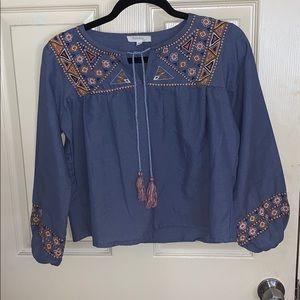 Cute crop blouse